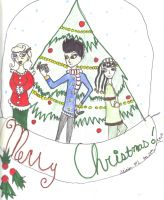 Merry Christmas 2010 by AliciaMDrawing