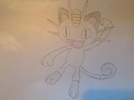 Pokemon - Meowth by dewildbunbun
