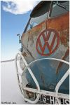 VW on the salt by HotRodJen
