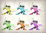 The Neon Ninja by stuhp84