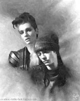 Bill and Tom oil paint by sylviesysy