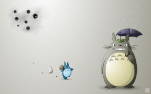 Totoro wallpaper by claudiiie