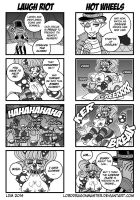 DC:P - 4Koma Circus 5 by Lorddragonmaster