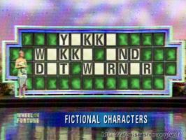 Animaniacs - Only vowels are left in the puzzle by Dorothy64116