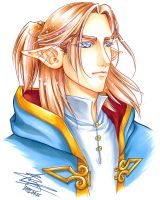 Silas portrait by sonialeong