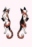 Double Sided Calico Badge by CaptainMorwen