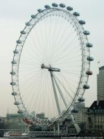 LONDON EYE by funny-skellington