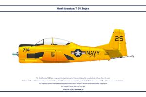 T-28 USA VT-5 by WS-Clave