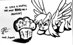 Think Like a Muffin by leadhooves