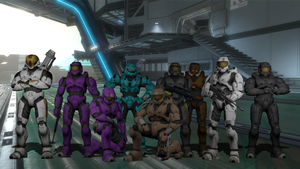 Project Freelancer Group Photo by Shadowpredator100