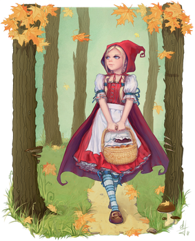 Red Riding Hood by DaoTae