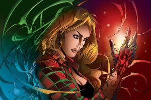 Witchblade collaboration by shiprock