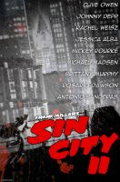 Sin City 2 - Movie Poster by fauxster