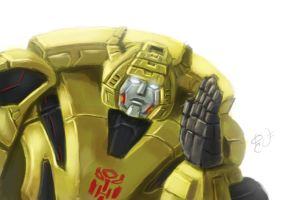 Speed Paint-Bumblebee by shaotemp