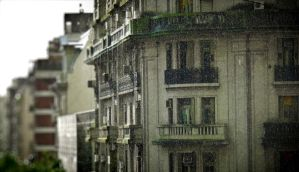 Rain over Buenos Aires by ludomatico