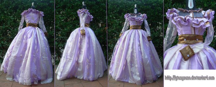 1860s Victorian Day Dress by giusynuno