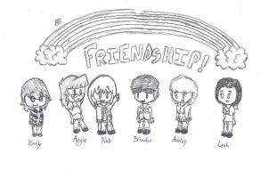 My Friends by uhnevermind