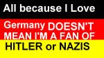 I love Germany I hate Hitler by ABtheButterfly