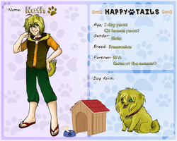 Happy-Tails app: Nath by Red-RainGoddess