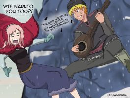 Narusaku- Reindeers are better than people... by CaiLiDeVeL