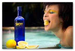 Skyy Vodka Shot by soshannad