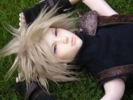Cloud Strife BJD by Sweetnessandspite