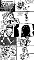 30 mins comics: Clueless Heroes by Dex91