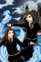 Hermonie and Ginny by Blackmoonrose13