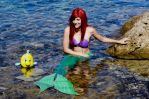My best friend :-- Ariel Cosplay--: by Laurelin-CosPlay