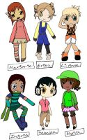 Female chibi-doptables-6 {READ DESCRIPTION!!} by Stephsadoptablesplz