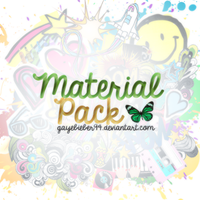 Material Pack by GayeBieber94