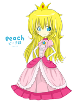 Peach by mogusq