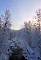 river .. .. by KariLiimatainen