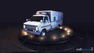 Ambulance_van_front_view by S-L-A-V-A