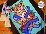 A Fox is a Wolf who sends Flowers by Bree-Leeds
