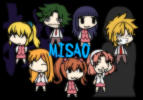 My custom walfas bases - Misao set 1 (X2) by Rumiflan