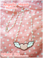 Angelic Heart Necklace by Pijenn