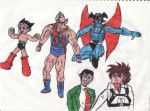 Heroes Anime Classics by thorman