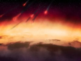 Meteor Storm by martinemes
