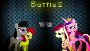 Pony Kombat 3 Round 1, Battle 2 by Macgrubor