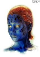 Mystique colour by Steve-Nice