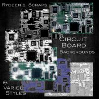 Circuit Board - Backgrounds by RYDEEN-05-2
