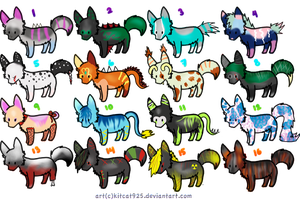 Wolf adopts 4 by Eruantron