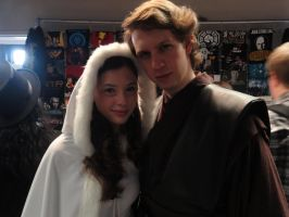 BACC '11 Padme and Anakin by zer0guard
