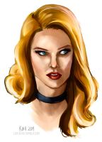 Black Canary by sympathized