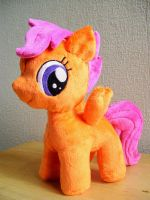 Minky Scootaloo Plushie by PlushieScraleos
