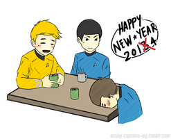 ST: Happy New Year 2014 by xCheckmate