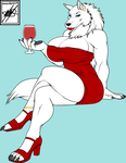 White Wolf Color (credit) by nickanater1