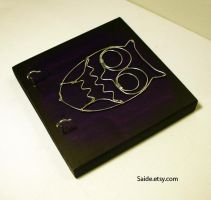 Deep Purple Wire OWL by ArtbySaide