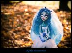 Monster High ooak: Emily from  the corps bride by clefchan